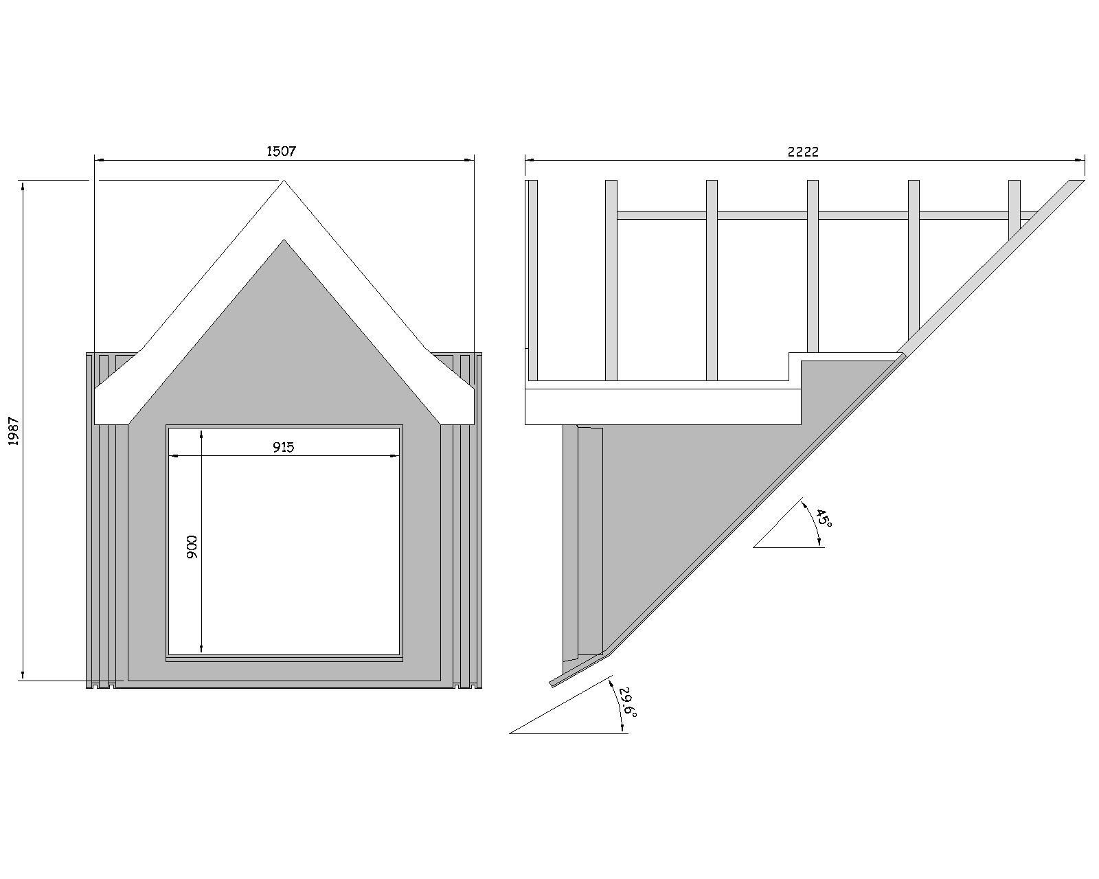 45 176 Apex Roof Dormer Grp Window Surround 10362 03