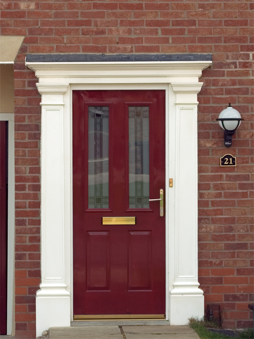 Fibreglass Front Entrance Doors