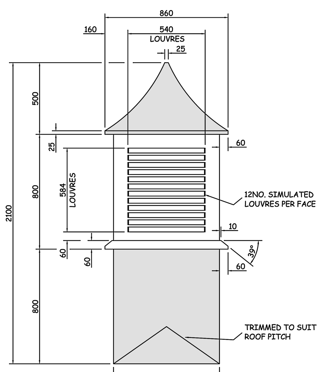 Wbp 70104 Dovecote Grp Roof Tower Amp Dovecote Features