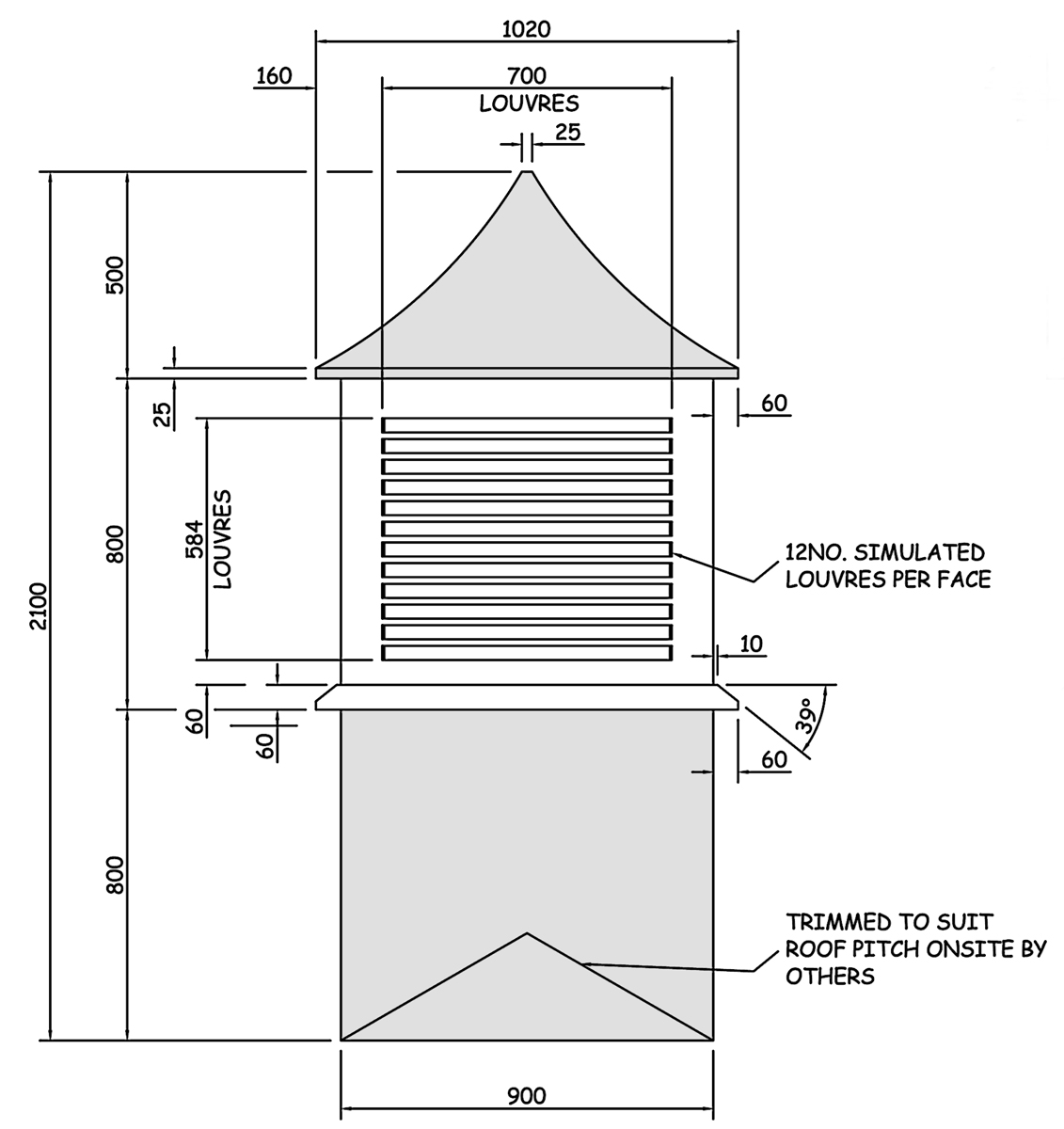 Wbp 70105 Dovecote Grp Roof Tower Amp Dovecote Features