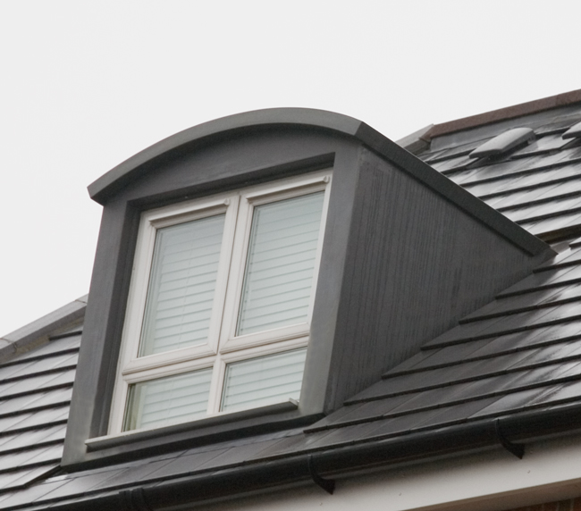 45° Curved Roof Dormer WBP:6332-01