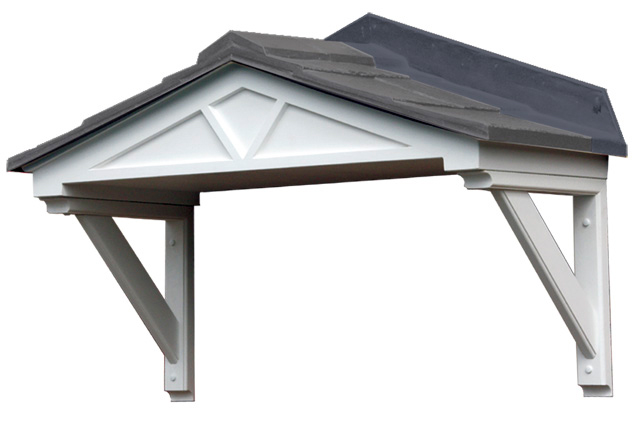 Replica Slate Roof Entrance Door Canopy