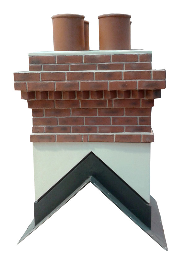 Quickstack GRP Light Mid Ridge Chimney