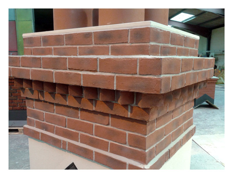 Quickstack Replica Brick Dogs-tooth Feature Brick Course