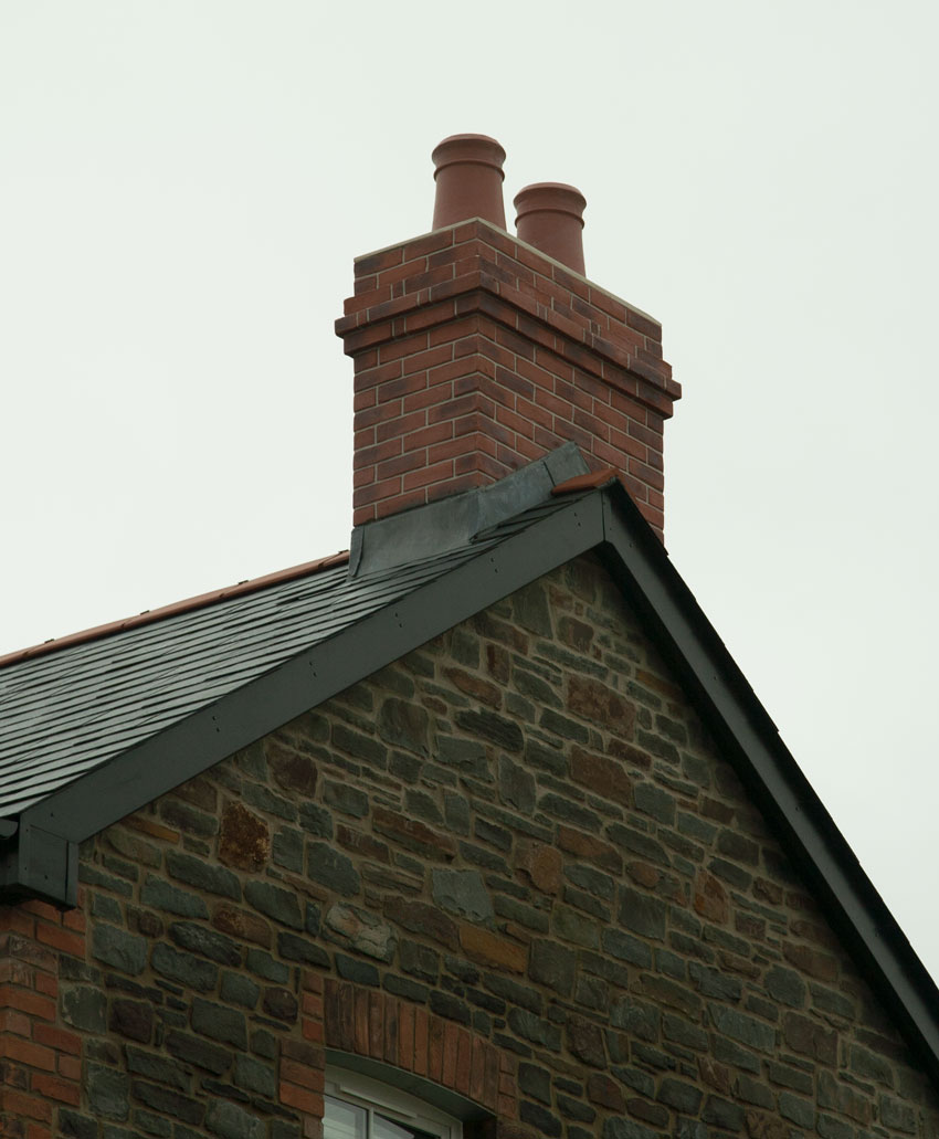 Quickstack GRP Replica Brick Chimney