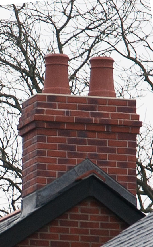 Quickstack Light Mid Ridge Chimney