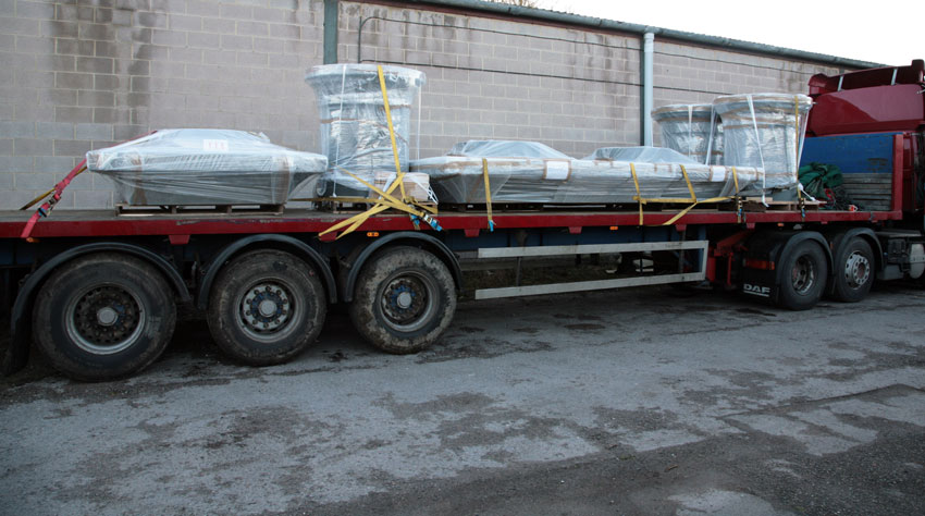 Bespoke Chimney Extract Delivery