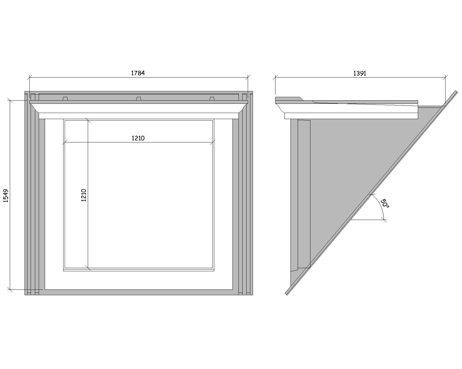 50 176 Flat Roof Dormer Wbp 10463 02 Grp Window Surrounds