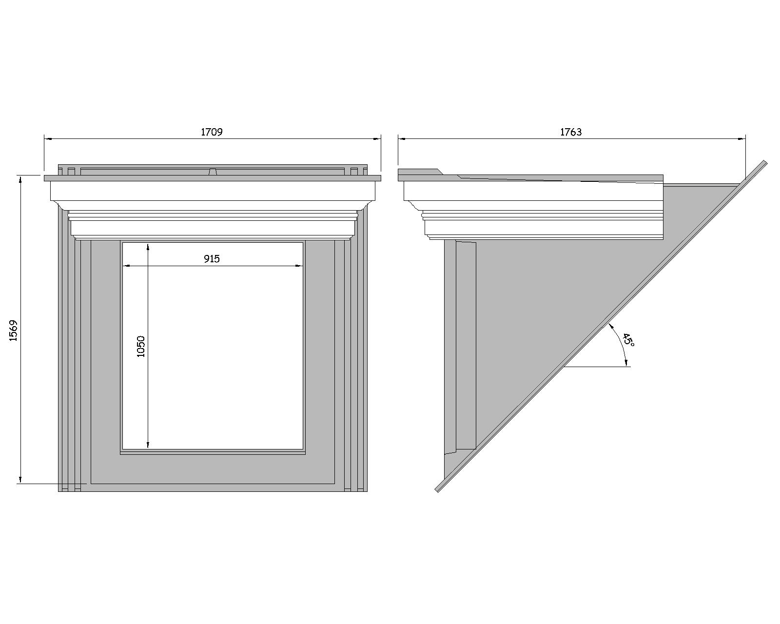 Flat Roof Dormer WIndow