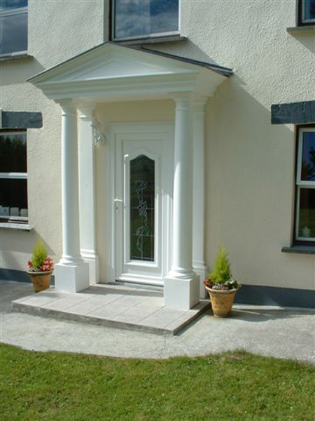 Wessex Bps Glastonbury Grp Entrance Portico