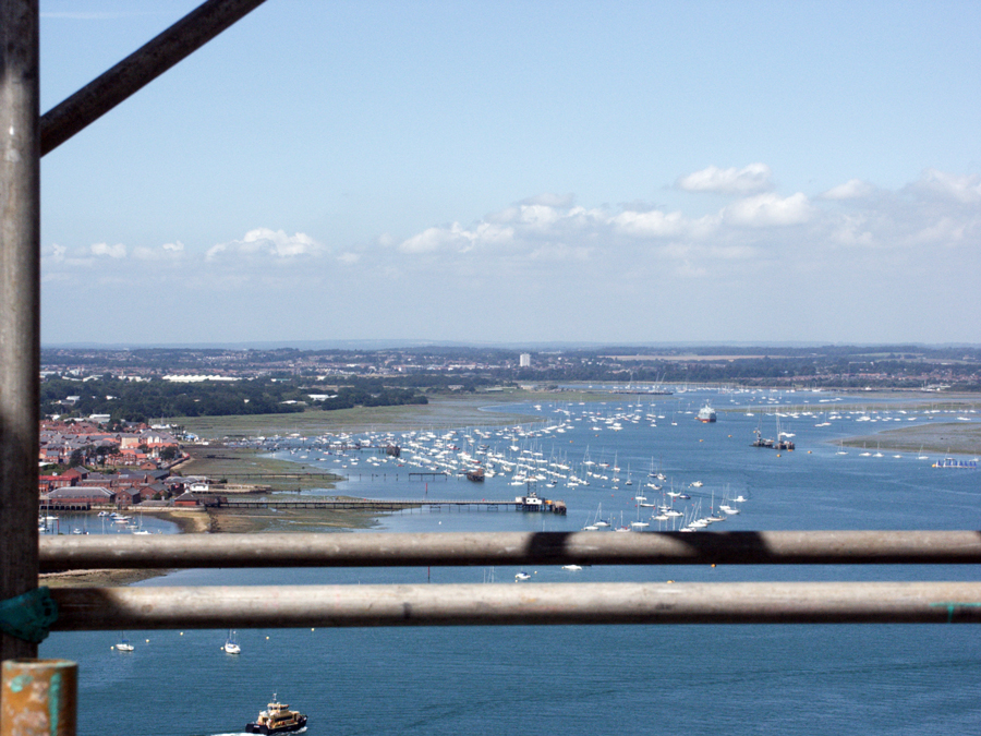 Spinnaker Tower Portsmouth Fantastic Views During Construction