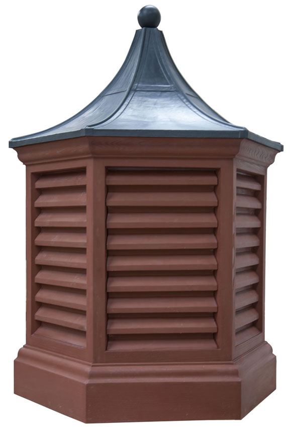 Hexagonal Dovecote with Replica Lead Roof