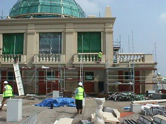 Trafford Centre Manchester Under Construction