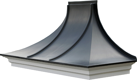 Reading Series - 750 x 1900 Replica Lead Roof Canopy