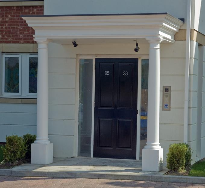 Shaftesbury Portico 3000 & GRP Entrance Porticos and Porches u0026 Surrounds | UK