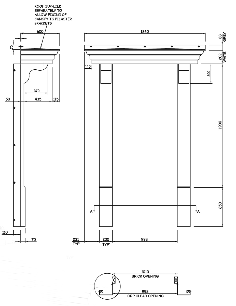 Windsor Door Surround WBP-40114
