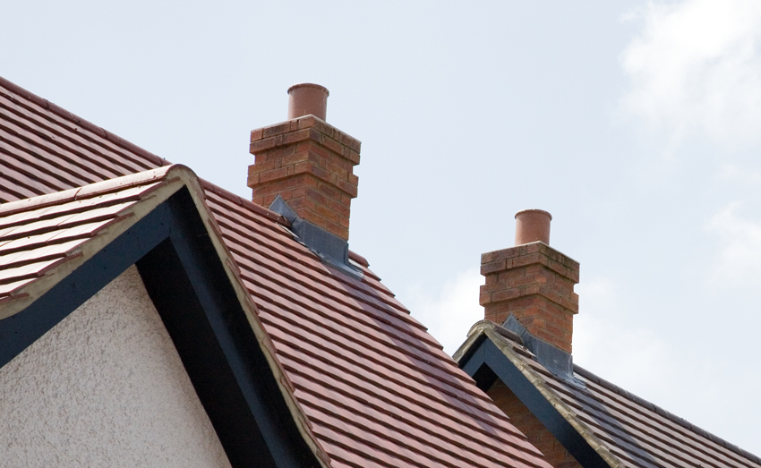 Quickstack Mid Ridge Chimneys With OS Capping - Image For Illustration Purposes Only