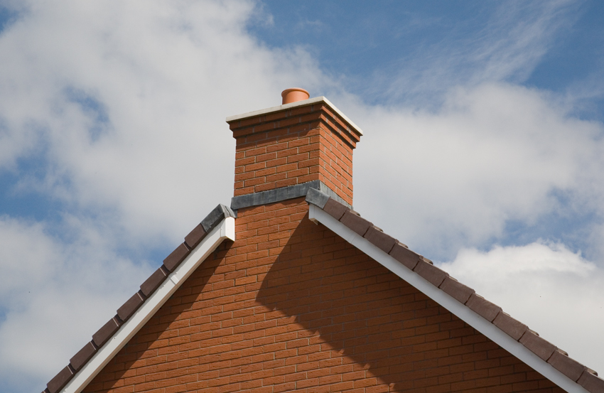 Quickstack End Gable Chimney With OS Capping - Image For Illustration Purposes Only