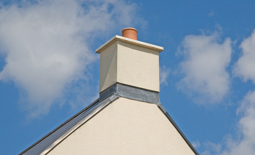 Quickstack Rendready Chimney With OS Capping - Image For Illustration Purposes Only