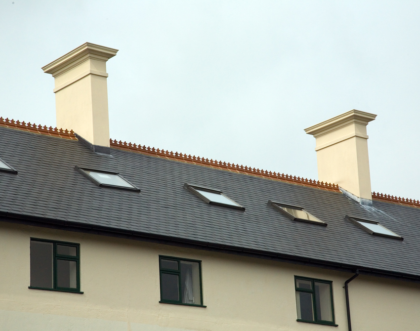 Quickstack - Light  Bespoke Replica Render Chimneys - Image For Illustration Pruposes Only
