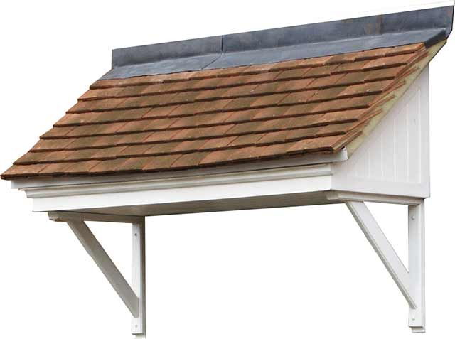 Woodford Lean To - 700 x 2600 -  Ready To Tile Canopy